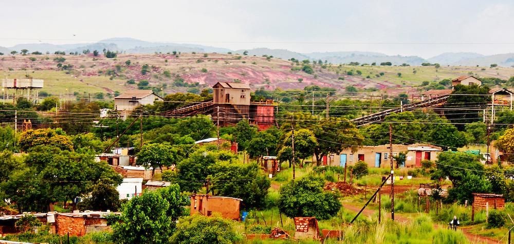 Rustenburg area, mining pictures South Africa | Mining stock