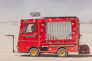 Cute red mutant vehicle. Name Unknown. My Burning Man 2019 Photos:<br />