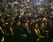 Thousands of graduates, faculty, and family members attend RIT's Convocation Ceremony in Rochester on Friday, May 22, 2015.