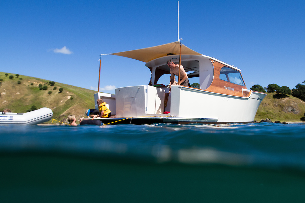 Southstar 37 by Salthouse Boatbuilders. Photo: Gareth Cooke/Subzero Images