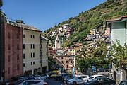 The village of Riomaggiore in the Cinque Terre national park. Italy