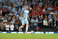 Football - 2016 / 2017 Champions League - Qualifying Play-Off, Second Leg: Manchester City [5] vs. Steaua Bucharest [0]<br /> <br /> Aleksandar Kolarov of Manchester City during the match, at the Ethihad Stadium.<br /> <br /> COLORSPORT/LYNNE CAMERON
