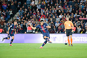 Edinson Roberto Paulo Cavani Gomez (El Matador) (El Botija) (Florestan) (PSG) licked it penalty during the French Championship Ligue 1 football match between Paris Saint-Germain and AS Saint-Etienne on September 14, 2018 at Parc des Princes stadium in Paris, France - Photo Stephane Allaman / ProSportsImages / DPPI
