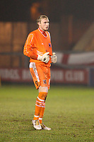 Photo: Pete Lorence/Sportsbeat Images.<br />Lincoln City v Darlington. Coca Cola League 2. 22/12/2007.<br />David Stockdale during the match.