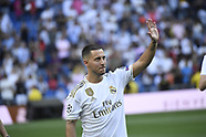061319 Hazard presentation as Real Madrid player