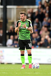 Graham Carey of Plymouth Argyle cuts a frustrated figure after Plymouth Argyle concede a goal - Mandatory by-line: Dougie Allward/JMP - 30/09/2017 - FOOTBALL - Memorial Stadium - Bristol, England - Bristol Rovers v Plymouth Argyle - Sky Bet League One