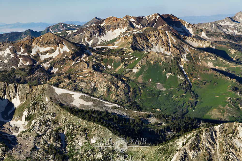 Alta Ski Resort in Little Cottonwood Canyon in the Summer
