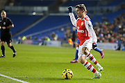Arsenal's Daniel Crowley during the Barclays U21 Premier League match between Brighton U21 and Arsenal U21 at the American Express Community Stadium, Brighton and Hove, England on 1 December 2014.