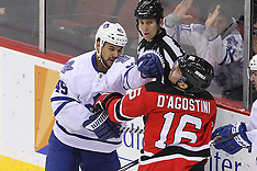 April 6, 2013: Toronto Maple Leafs at New Jersey Devils