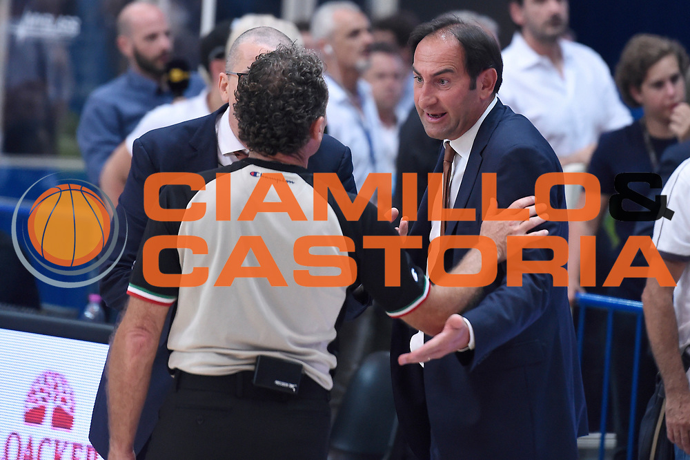 Federico Casarin<br /> Dolomiti Energia Aquila Basket Trento - Umana Reyer Venezia<br /> Lega Basket Serie A 2016/2017<br /> Playoff, finale gara 3<br /> Trento, 14/06/2017<br /> Foto M.Ceretti / Ciamillo-Castoria