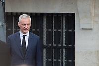 Bruno le Maire Obsèques de Jacques Chirac Lundi 30 Septembre 2019 église Saint Sulpice Paris