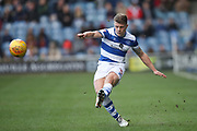 Jake Bidwell of Queens Park Rangers during the EFL Sky Bet Championship match between Queens Park Rangers and Bolton Wanderers at the Loftus Road Stadium, London, England on 17 February 2018. Picture by Toyin Oshodi.