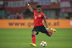 March 21, 2019 - Vienna, Austria - David Alaba of Austria during the UEFA European Qualifiers 2020 match between Austria and Poland at Ernst Happel Stadium in Vienna, Austria on March 21, 2019  (Credit Image: © Andrew Surma/NurPhoto via ZUMA Press)
