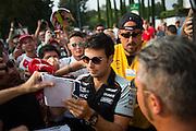September 3, 2016: Sergio Perez (MEX), Force India , Italian Grand Prix at Monza