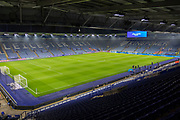 General View of the ground before the Premier League match between Leicester City and West Ham United at the King Power Stadium, Leicester, England on 22 January 2020.