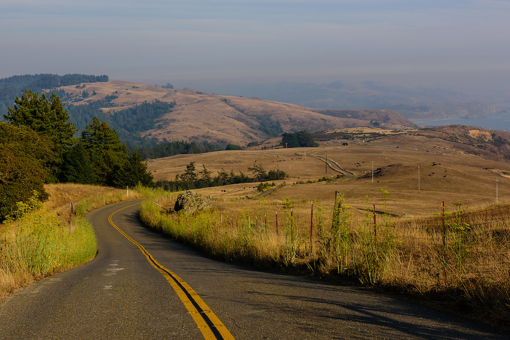 Country Road, Jenner, California