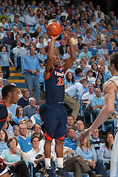 07 February 2009: Virginia Cavaliers guard Jeff Jones (23) during a 76-61 loss to the North Carolina Tar Heels at the Dean Smith Center in Chapel Hill, NC.