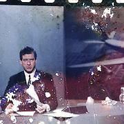 Stanley Burke, man, tv, news, journalist, CBC