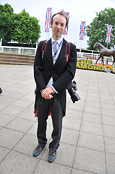 MARCUS DAWES at the 2012 Investec sponsored Derby at Epsom Racecourse, Epsom, Surrey on 2nd June 2012.