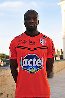 Djibril Konate - 28.09.2015 - Photo officielle - Laval - Ligue 2<br /> Photo : Philippe Le Brech / Icon Sport