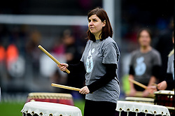 Taiko Drummers prior to kick off - Mandatory by-line: Ryan Hiscott/JMP - 12/10/2019 - RUGBY - Sandy Park - Exeter, England - Exeter Chiefs v Bristol Bears - Premiership Rugby Cup