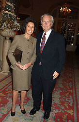 LORD & LADY OWEN at The Business Winter Party hosted by Andrew Neil at The Ritz Hotel, Piccadilly, London on 7th December 2005.<br /><br />NON EXCLUSIVE - WORLD RIGHTS
