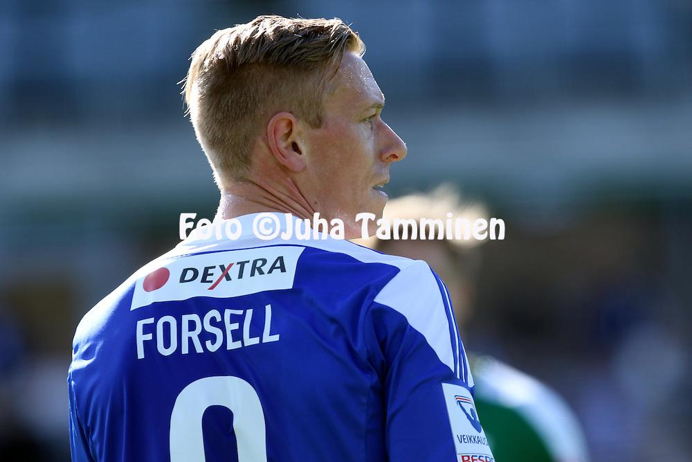 2.4.2016, Sonera Stadion, Helsinki.<br /> Veikkausliiga 2016.<br /> Helsingin Jalkapalloklubi - IFK Mariehamn.<br /> Mikael Forssell - HJK