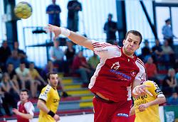 Uros Bundalo at handball match of MIK 1st Men league between RD Slovan and RK Gorenje Velenje, on May 16, 2009, in Arena Kodeljevo, Ljubljana, Slovenia. Gorenje won 27:26. (Photo by Vid Ponikvar / Sportida)
