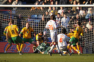 London - Friday, December 26th, 2008: Jose Fonte of Crystal Palace scores his 2nd goal to make it 2 -1 during the Coca Cola Championship match at Selhurst Park, London. (Pic by Alex Broadway/Focus Images)