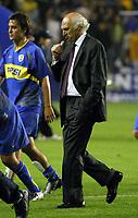 Fotball<br />22/10/03 - BOCA JUNIORS FROM ARGENTINA (0) VS. ATLETICO NACIONAL FROM COLOMBIA (1) - SOUTH AMERICAN CUP - Buenos Aires - Argentina.<br />CARLOS BIANCHI (Boca Coach).<br />Foto: Digitalsport
