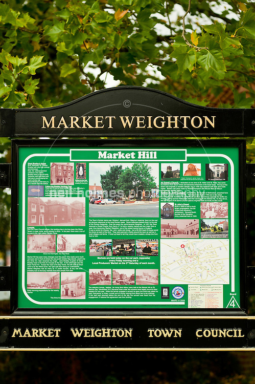 Market Weighton, East Yorkshire