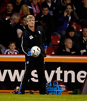 Photo: Jed Wee.<br /> Sheffield United v Birmingham City. Carling Cup. 24/10/2006.<br /> <br /> Birmingham's under pressure manager Steve Bruce.