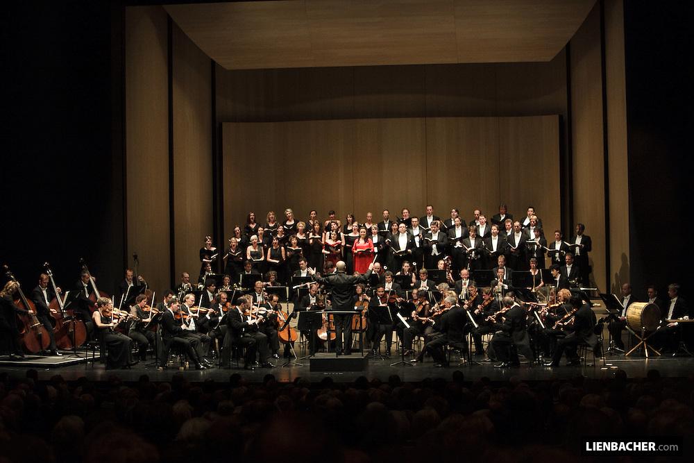 Die Deutsche Kammerphilharmonie Bremen im Haus für Mozart während der Salzburger Festspiele 2009. Foto: Wolfgang Lienbacher