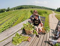 Little Sprouts Garden Club program at Moulton Farm.  (Karen Bobotas Photographer)