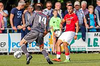 ANNA PAULOWNA, 07-07-2017, Polderse selectie - AZ, kleine Sluis, 2-3, AZ speler Levi Opdam