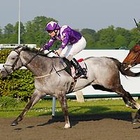 Royal Bajan and Frederik Tylicki winning the 6.30 race