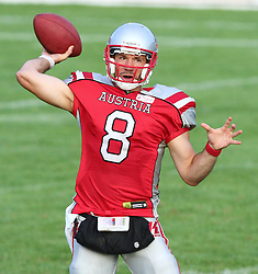 27.07.2010, Wetzlar Stadion, Wetzlar, GER, Football EM 2010, Team Austria vs Team Finland, im Bild Christoph Gross, (Team Austria, QB, #8) ,  EXPA Pictures © 2010, PhotoCredit: EXPA/ T. Haumer