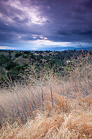 Sunset View from Michael Antonovich Trail, San Dimas, California