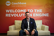 Matt Cain of Couchbase poses for a portrait at Couchbase in Mountain View, California, on July 25, 2018. (Stan Olszewski for Silicon Valley Business Journal)