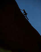 Climber at Garden of the Gods