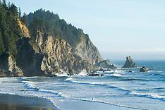 Oswald West State Park photos - oregon coast images, oregon surf photos