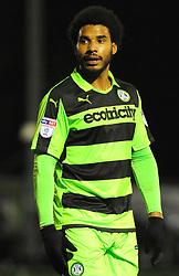 Reuben Reid of Forest Green Rovers- Mandatory by-line: Nizaam Jones/JMP - 13/02/2018 - FOOTBALL - New Lawn Stadium - Nailsworth, England - Forest Green Rovers v Stevenage - Sky Bet League Two