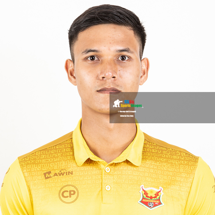 THAILAND - JUNE 29: Kittipong Wongma #29 of Sukhothai FC on June 29, 2019.<br /> .<br /> .<br /> .<br /> (Photo by: Naratip Golf Srisupab/SEALs Sports Images/MB Media Solutions)