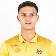 THAILAND - JUNE 29: Kittipong Wongma #29 of Sukhothai FC on June 29, 2019.<br /> .<br /> .<br /> .<br /> (Photo by: Naratip Golf Srisupab/SEALs Sports Images/MB Media Solutions)