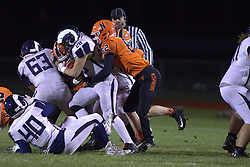 1 November 2019: Burbank Reavis Rams at Normal Community Ironmen football, 1st round playoffs IHSA 7A, Normal, Illinois