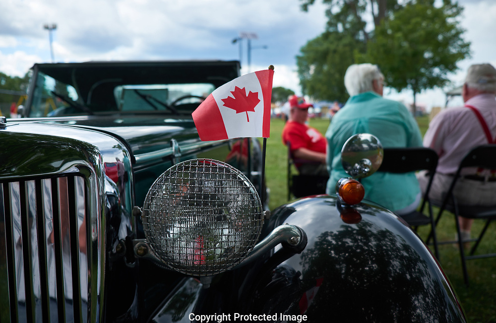 Pre Canada Day celebration in Sarnia, Ontario area, Tuesday, June 27, 2017. (Photo/John Froschauer)