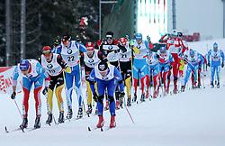 31.12.2011, DKB-Ski-ARENA, Oberhof, GER, Viessmann Tour de Ski 2011, FIS Langlauf Weltcup, Verfolgung Herren, im Bild Alexander Legkov (RUS), Lukas Bauer (CZE) vorn , dicht gefolgt von Jens Filbrich und Axel Teichmann (beide GER) // during men's pursuitof Viessmann Tour de Ski 2011 FIS World Cup Cross Country at DKB-SKI-Arena Oberhof, Germany on 2011/12/31. EXPA Pictures © 2011, PhotoCredit: EXPA/ nph/ Hessland..***** ATTENTION - OUT OF GER, CRO *****
