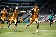 during the Sky Bet Championship Playoff Semi Final First Leg at the iPro Stadium, Derby<br /> Picture by Russell Hart/Focus Images Ltd 07791 688 420<br /> 14/05/2016