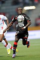 FOOTBALL - FRENCH CHAMPIONSHIP 2010/2011 - L1 - AS NANCY LORRAINE v STADE RENNAIS - 14/08/2010 - PHOTO GUILLAUME RAMON / DPPI - Victor Hugo MONTAÑO (RENNES)