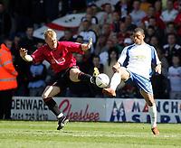 Fotball<br /> England 2004/2005<br /> Foto: SBI/Digitalsport<br /> NORWAY ONLY<br /> <br /> Bury v Swansea City, Gigg Lane Stadium, Bury. <br /> Coca Cola League Two, 07/05/2005. <br /> <br /> Garry Monk and Colin Kazim-Richards